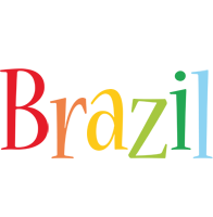 Brazil birthday logo