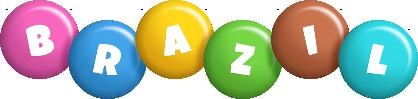 Brazil candy logo