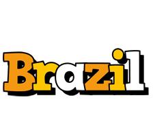 Brazil cartoon logo