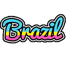 Brazil circus logo
