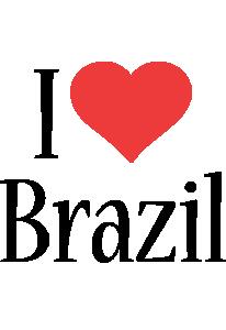 Brazil i-love logo