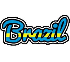 Brazil sweden logo