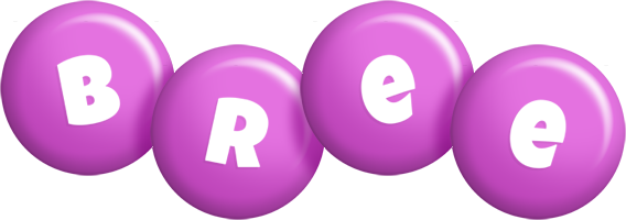 Bree candy-purple logo