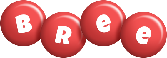 Bree candy-red logo