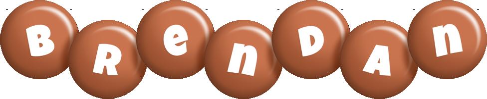 Brendan candy-brown logo