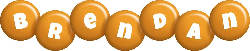 Brendan candy-orange logo