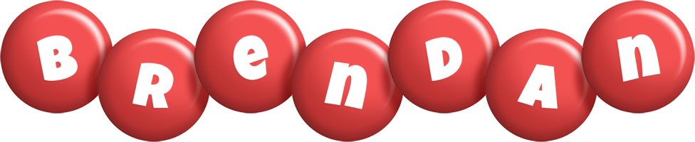 Brendan candy-red logo
