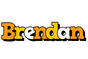Brendan cartoon logo