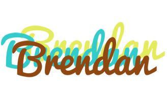 Brendan cupcake logo