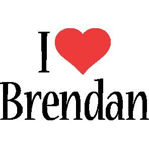Brendan i-love logo