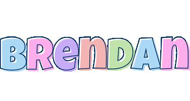 Brendan pastel logo