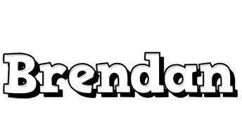 Brendan snowing logo