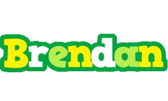 Brendan soccer logo