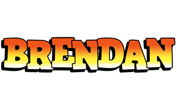 Brendan sunset logo