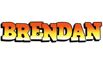 Brendan sunset logo