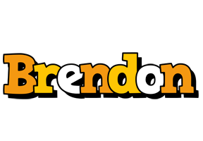 Brendon cartoon logo