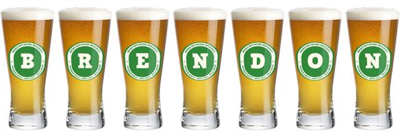 Brendon lager logo