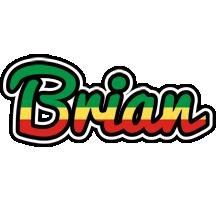 Brian african logo