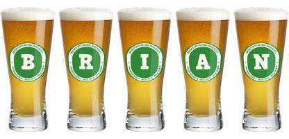 Brian lager logo