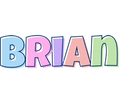 Brian pastel logo