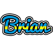 Brian sweden logo