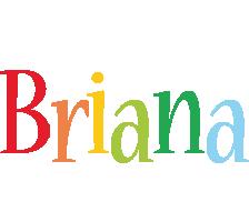 Briana birthday logo