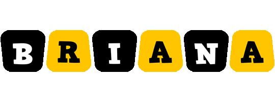 Briana boots logo