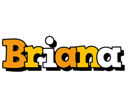 Briana cartoon logo