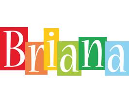 Briana colors logo