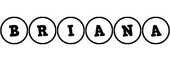 Briana handy logo