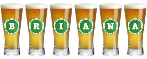 Briana lager logo