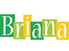 Briana lemonade logo