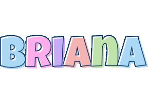 Briana pastel logo