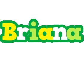 Briana soccer logo
