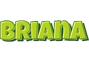 Briana summer logo