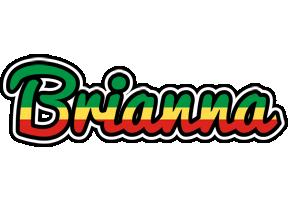 Brianna african logo