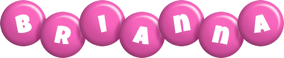 Brianna candy-pink logo