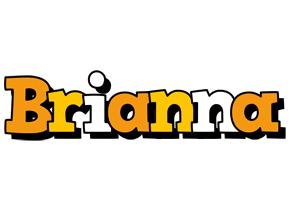 Brianna cartoon logo