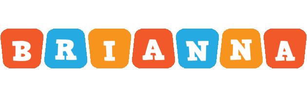 Brianna comics logo