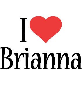 Brianna i-love logo