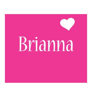Brianna love-heart logo