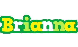 Brianna soccer logo