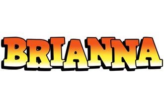 Brianna sunset logo