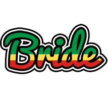 Bride african logo