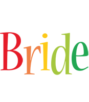 Bride birthday logo