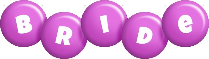 Bride candy-purple logo