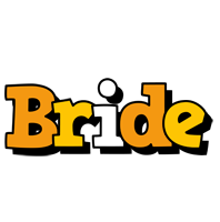 Bride cartoon logo