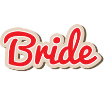 Bride chocolate logo