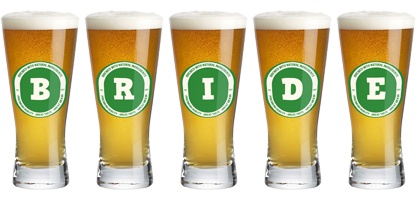Bride lager logo