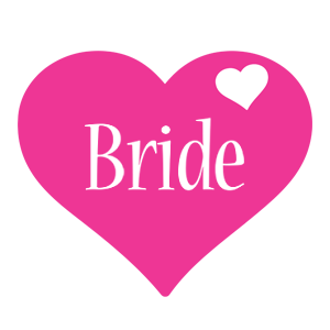 Bride love-heart logo